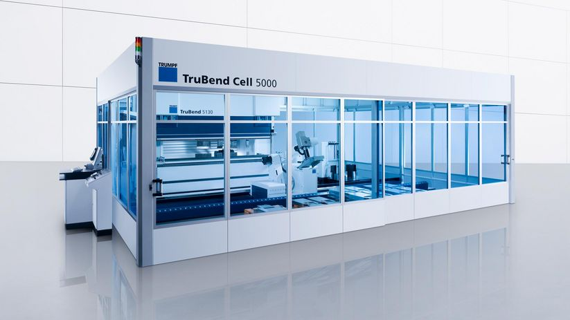 TruBend Cell 5000, cellule de pliage universelle productive