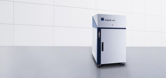 TruDiode – the energy-efficient diode laser