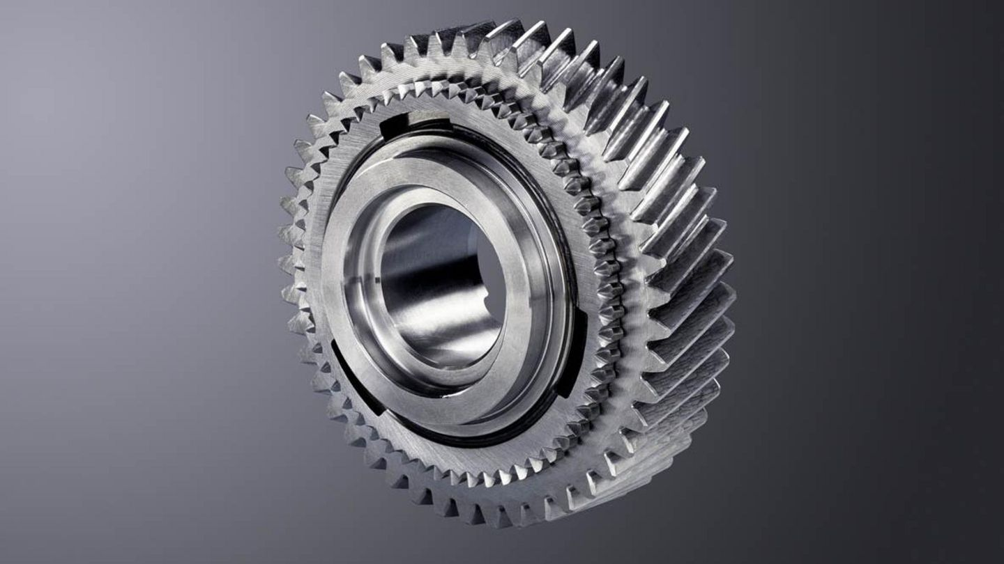 Laser-welded control gear