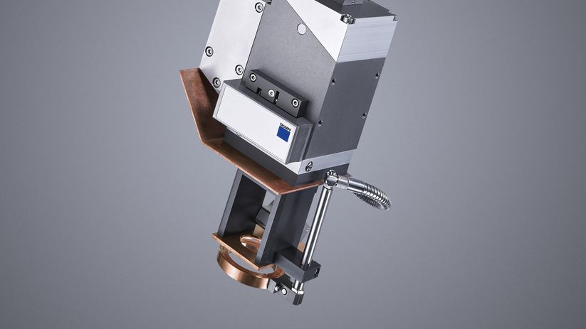 Crossjet option, TRUMPF focusing optics