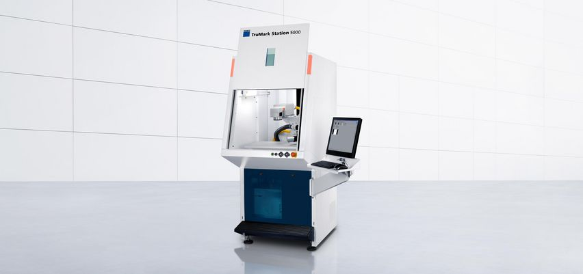 TruMark Station 5000 with integrated TruMark laser