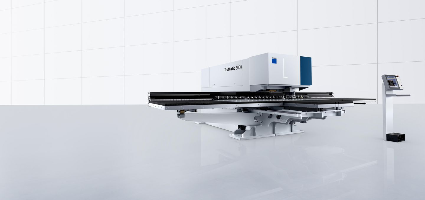 TruMatic 6000 fiber, productive thin sheet machine