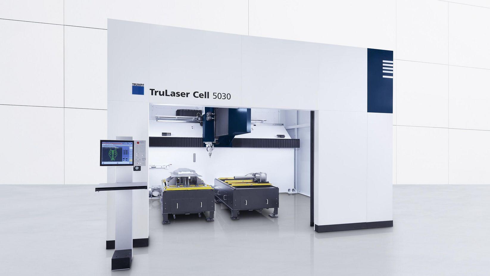 TruLaser Cell 5030 Innenraum