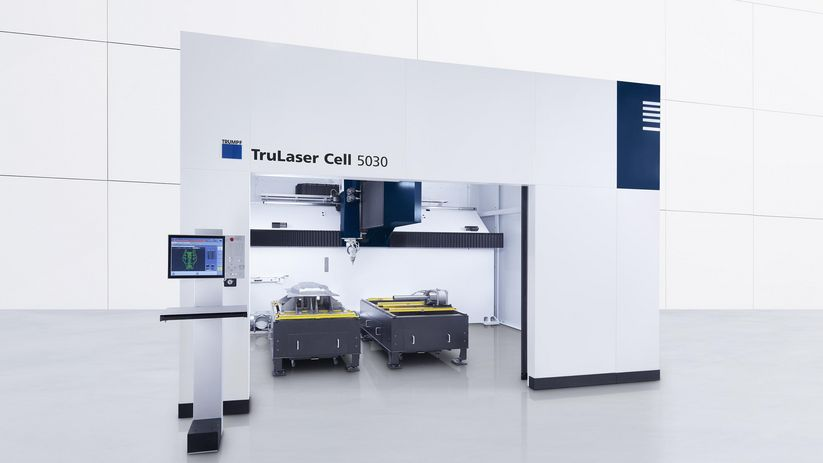 Inside the TruLaser Cell Series 5030