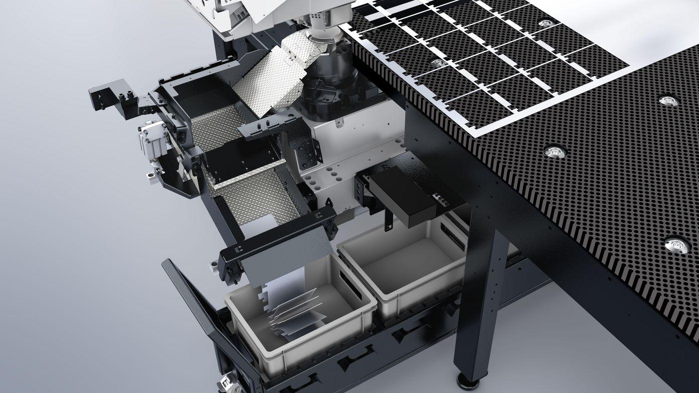 TruMatic 1000 fiber, sorting