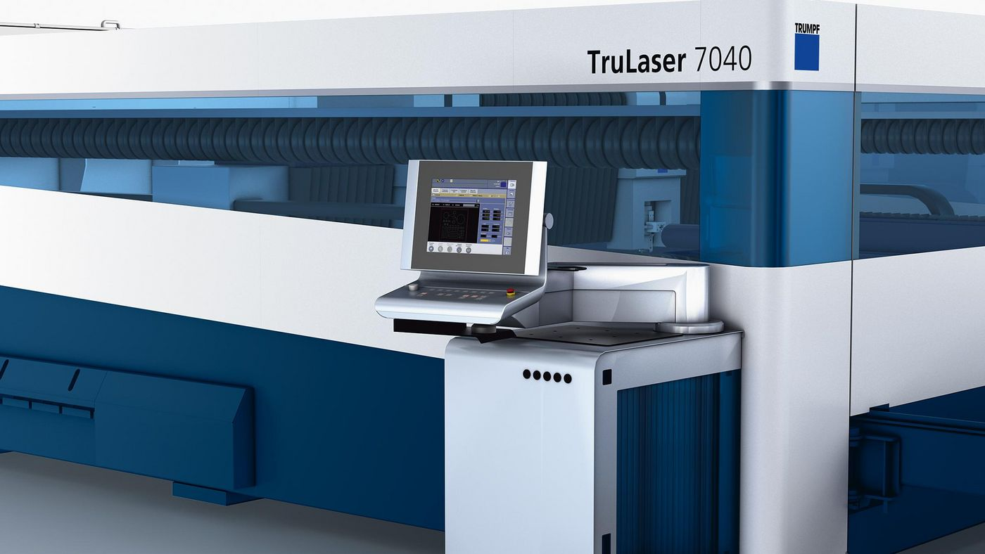 TruLaser 7040, control panel