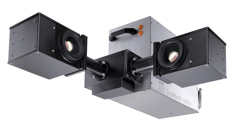 Double-head system of the TruMark Series 6000