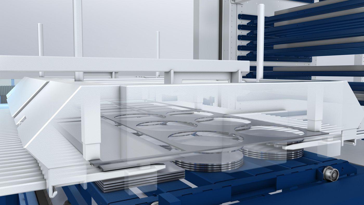 LiftMaster Linear, scrap skeleton separation