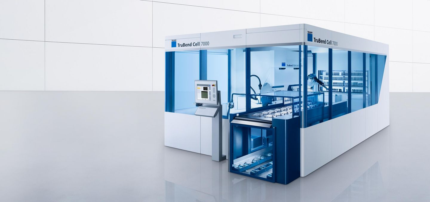 TruBend Cell 7000, innovative Highspeed-Biegezelle