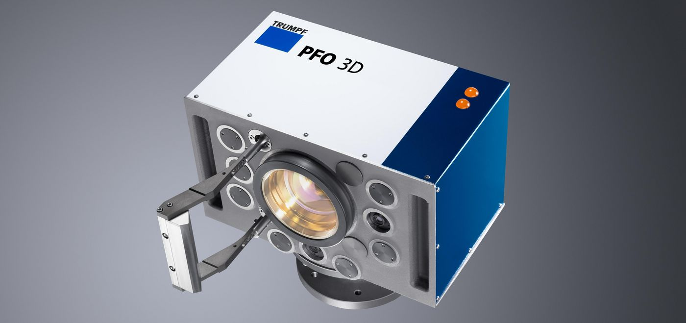 Programmable focusing optics PFO 3D