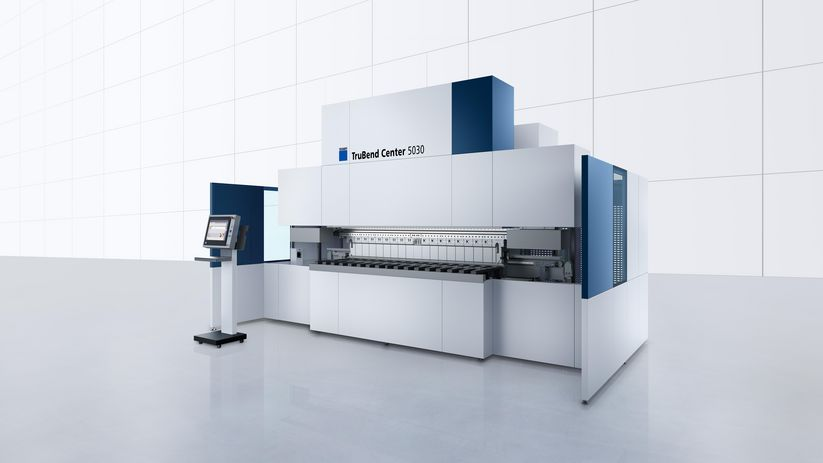 TruBend Center Série 5000, machine polyvalente et productive