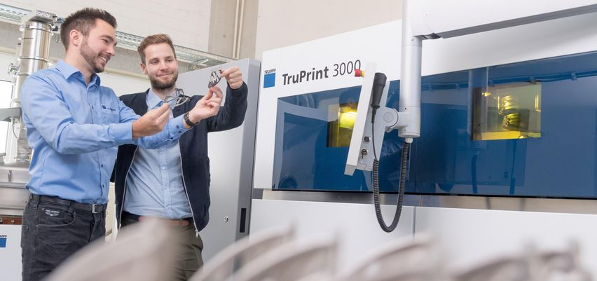 TRUMPF application consultation for additive manufacturing – tailored consultation for your 3D components