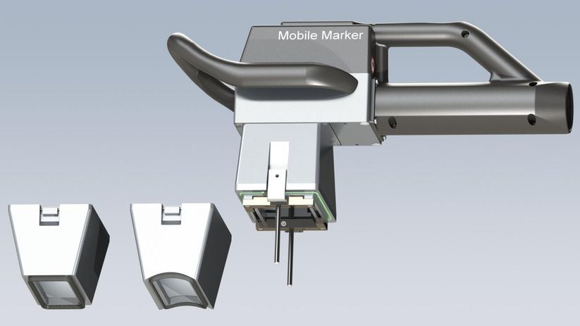 Customer-specific marking attachments of the Mobile Marker