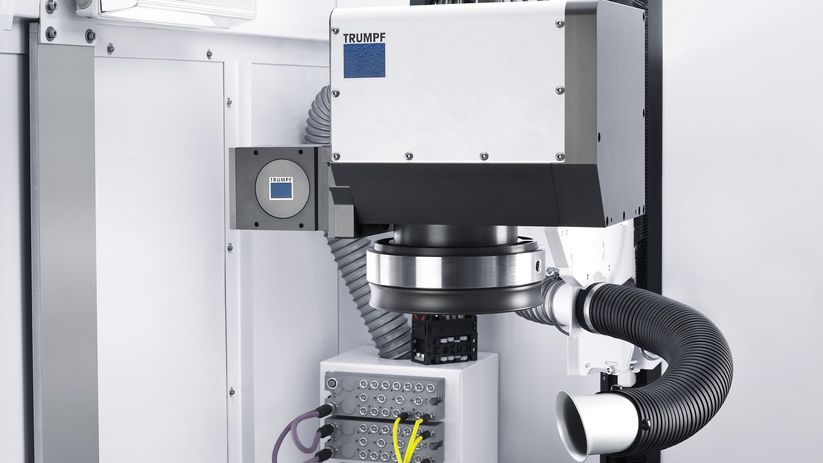 Integrated scanner optics from TRUMPF