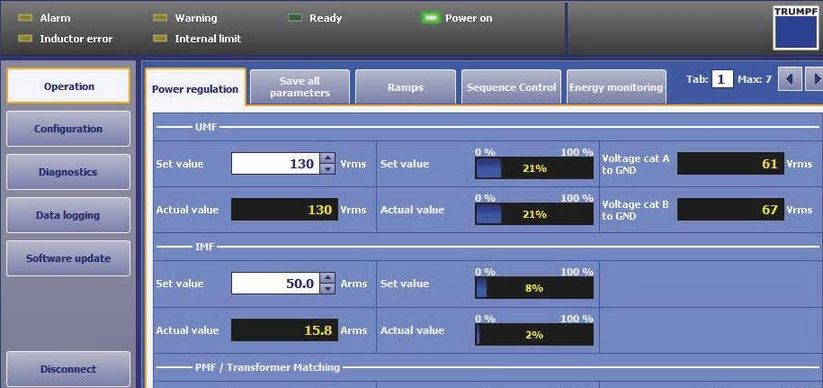 User-friendly software TruControl Power