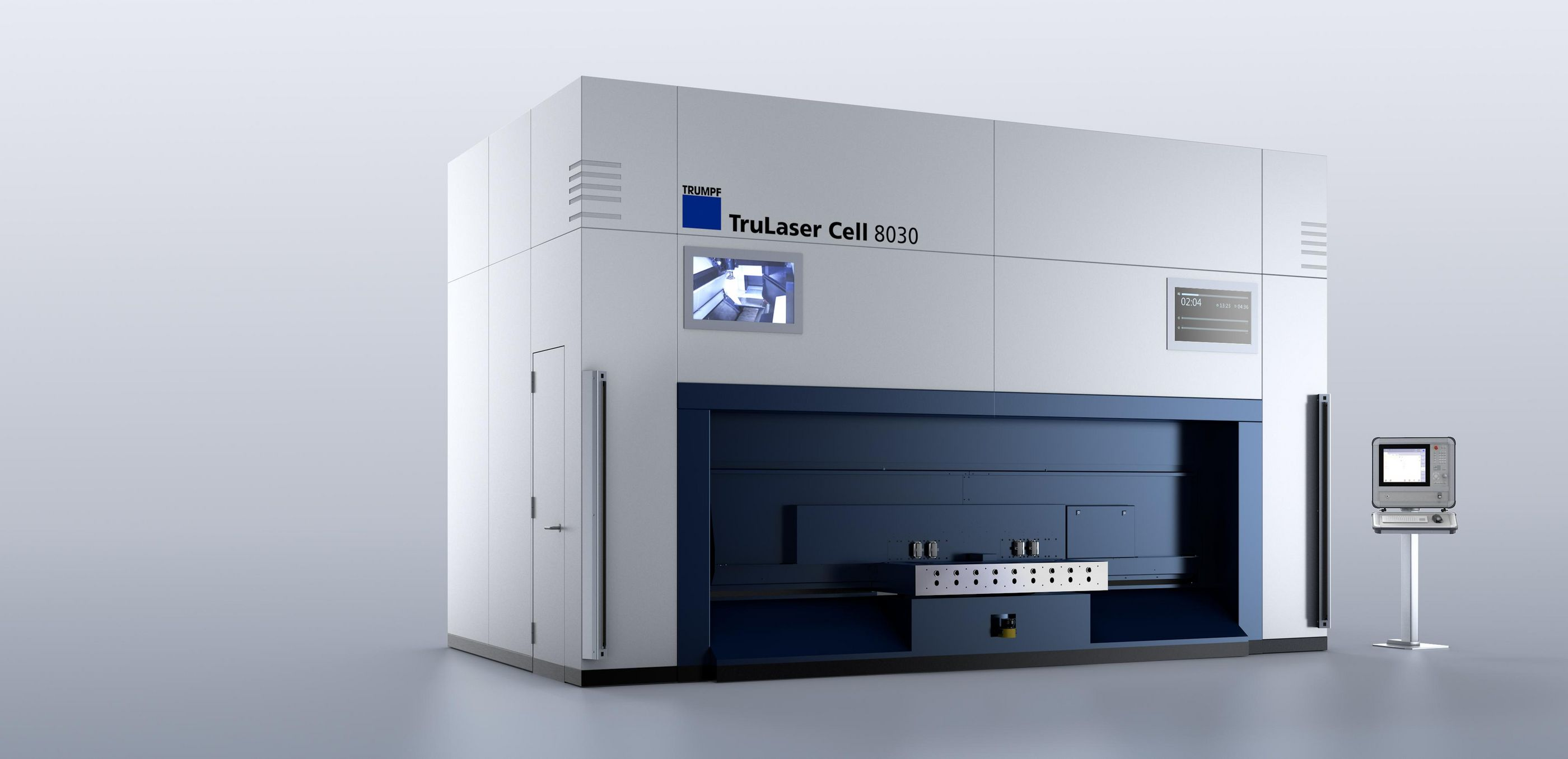 TruLaser Cell 8030 rotary indexing table