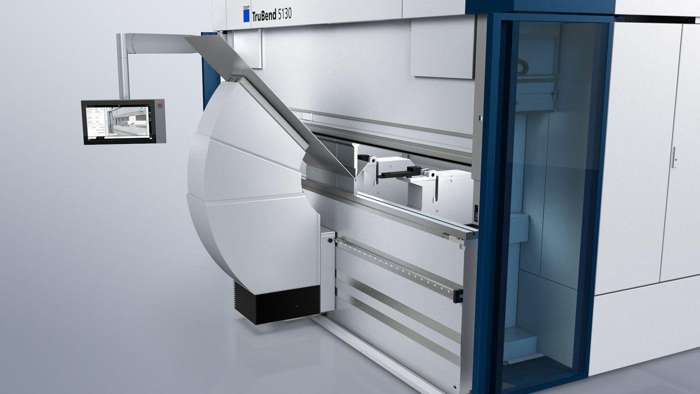 TruBend Series 5000, bending aid
