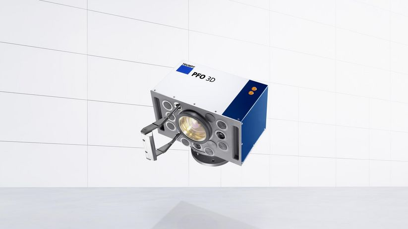 Scanner optics from TRUMPF