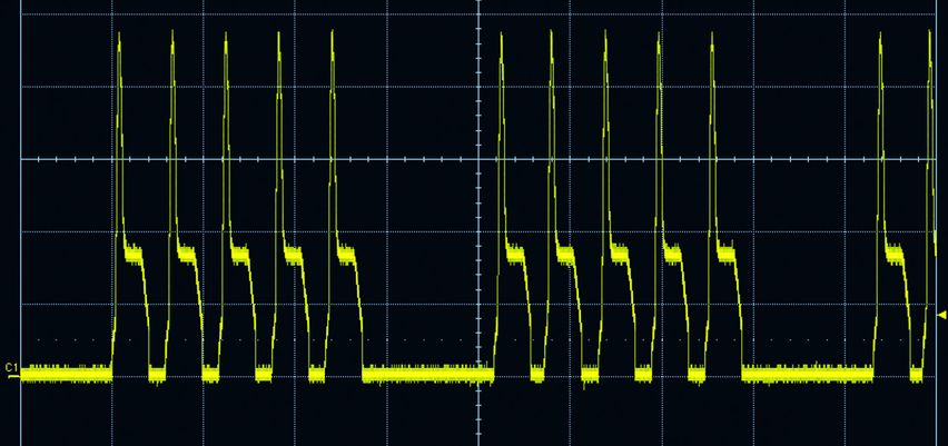 Burst function of the TruPulse