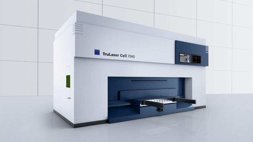 Rotational changer of the TruLaser Cell 7040