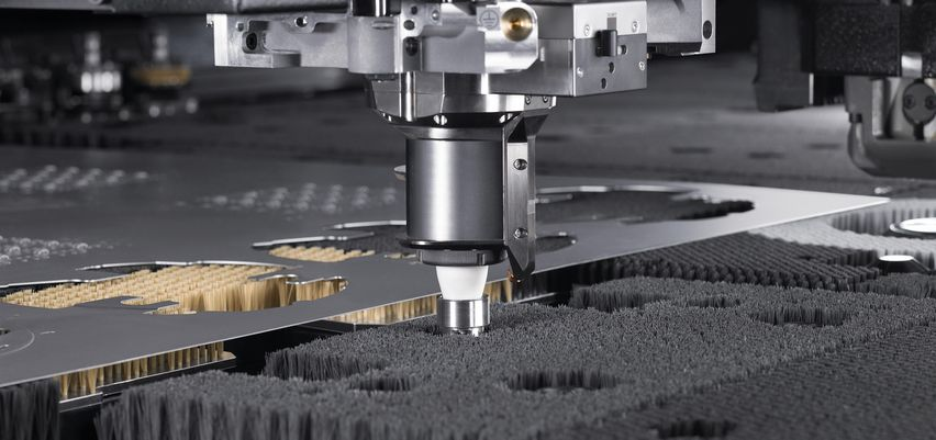 TruMatic 6000 fiber, single cutting head strategy