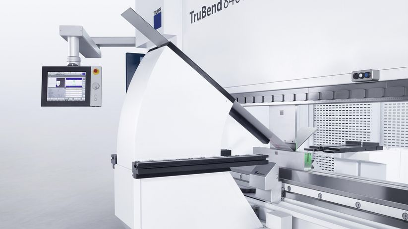 TruBend Series 8000, bending aids