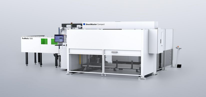 TruMatic 1000 fiber and SheetMaster Compact