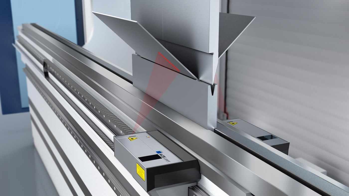 ACB laser angle measuring system