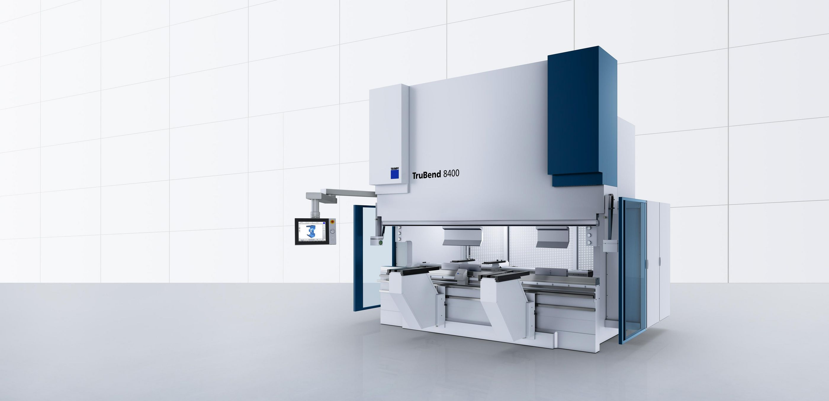 TruBend Series 8000, a flexible large-format machine