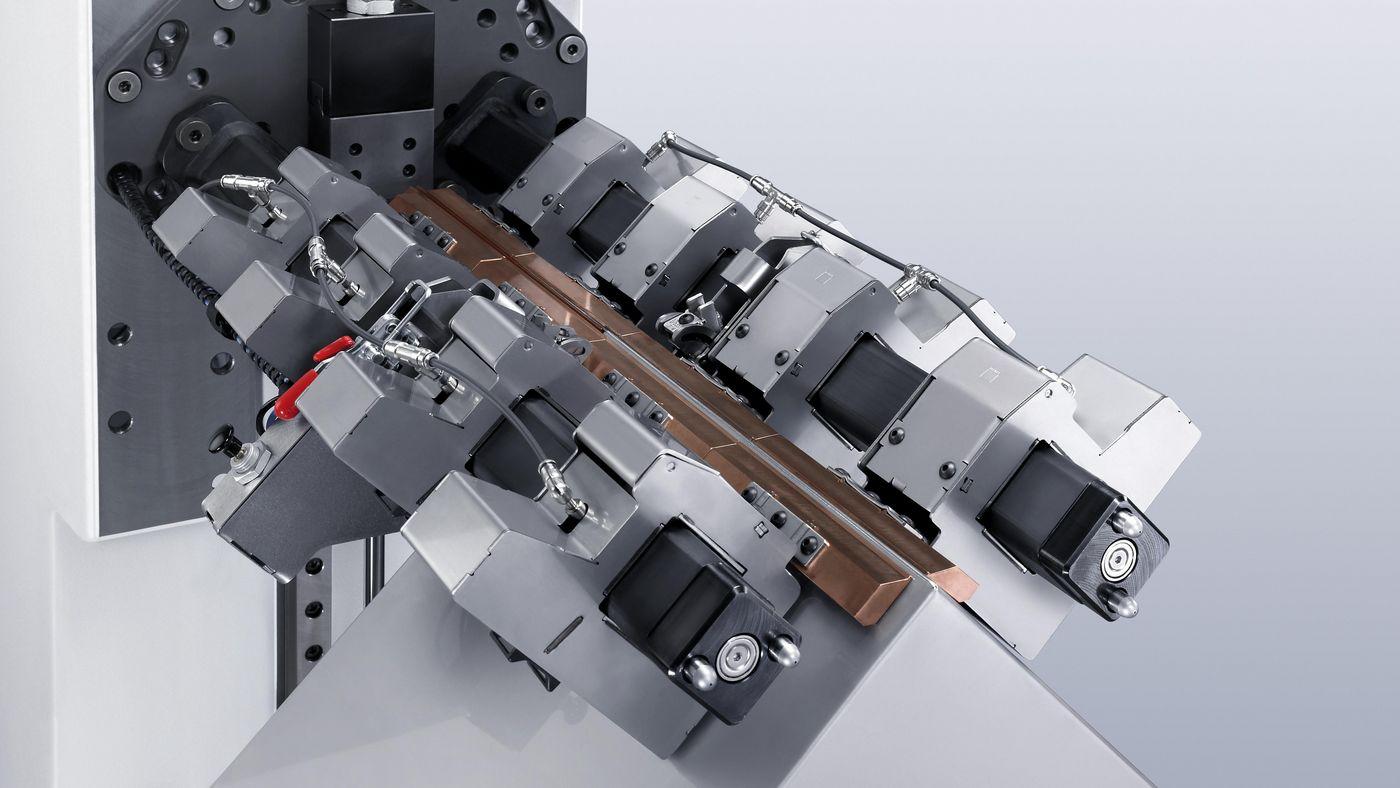 TruLaser Weld 5000, modular clamping system