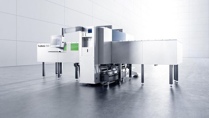 TruMatic 1000 fiber – efficient compact machine
