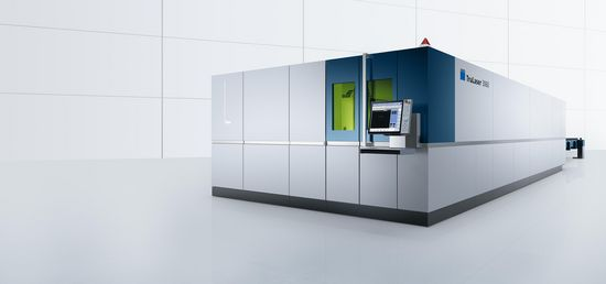 TruLaser 3060 fiber, flexible standard machine with oversize format and multi-sheet processing