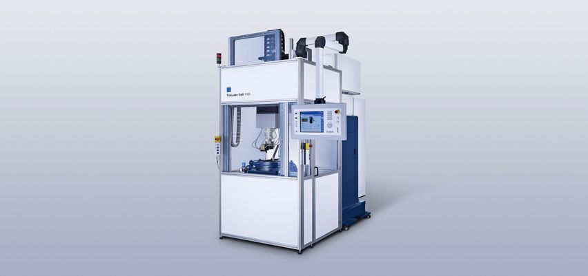 TruLaser Cell 1100 PWT for rotationally symmetrical components