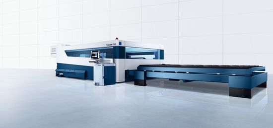 TruLaser 7040, high-precision machine for series production