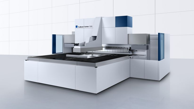 TruBend Center 7030 – fully automatic and precise panel bending with high flexibility