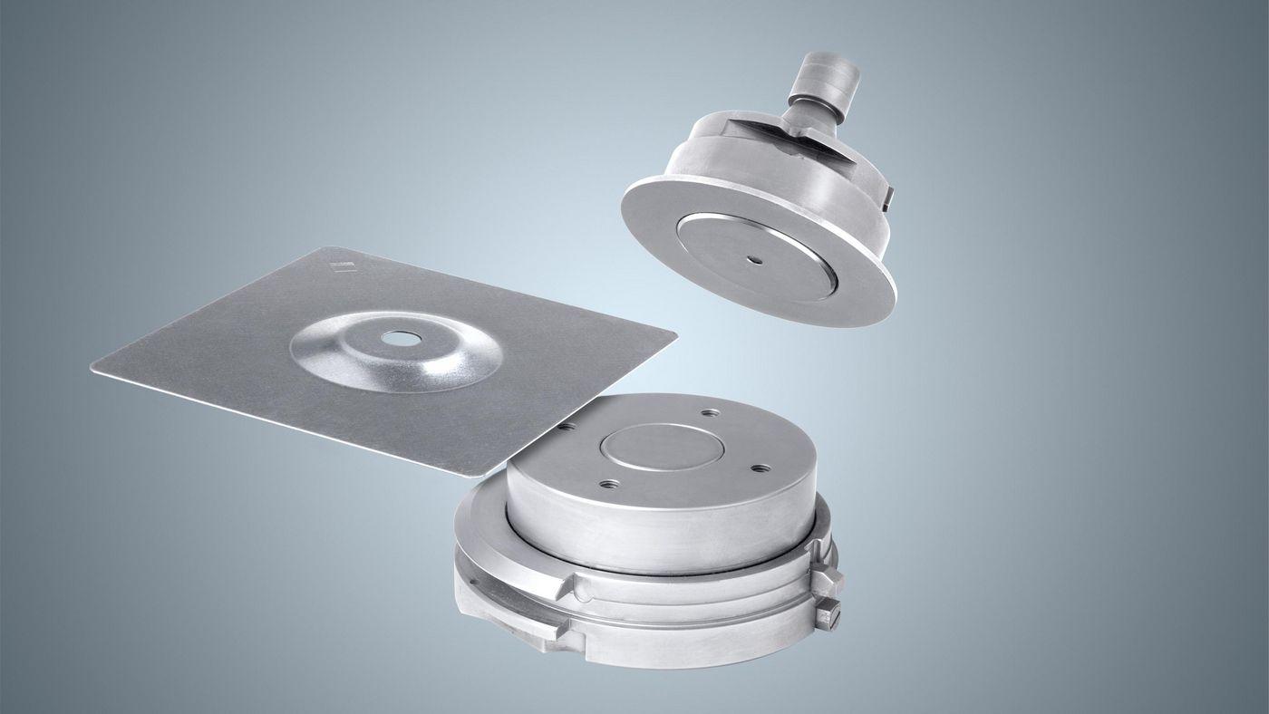 Napfwerkzeug Größe 5 für die aktive Matrize