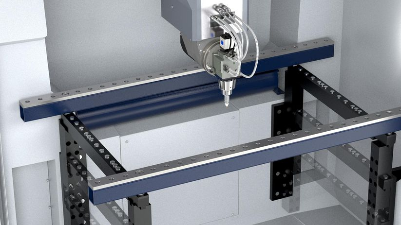 TruLaser Cell 3000, variable clamping system