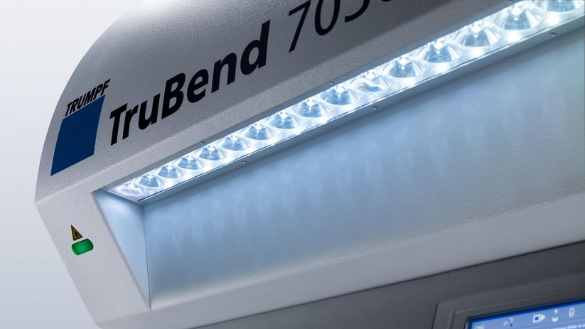 TruBend Series 7000, work area illumination