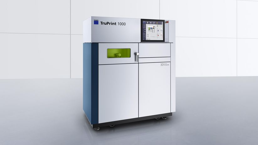 TruPrint 1000, the compact 3D printer from TRUMPF
