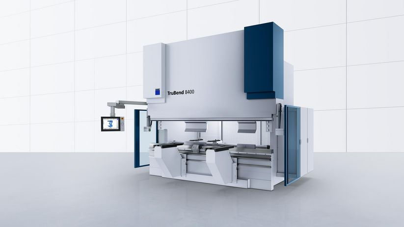 TruBend Series 8000, flexible large-format machine