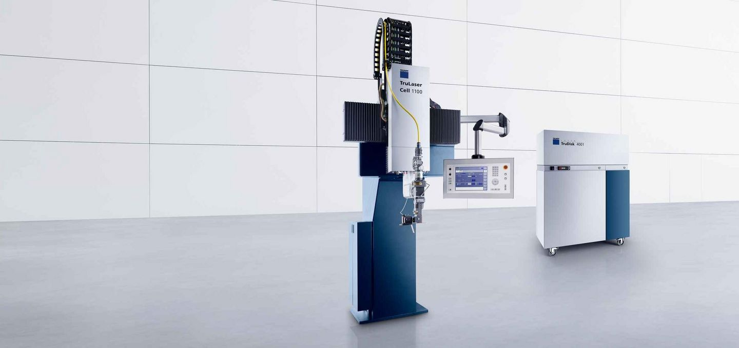 TruLaser Cell Series 1000 with solid-state laser