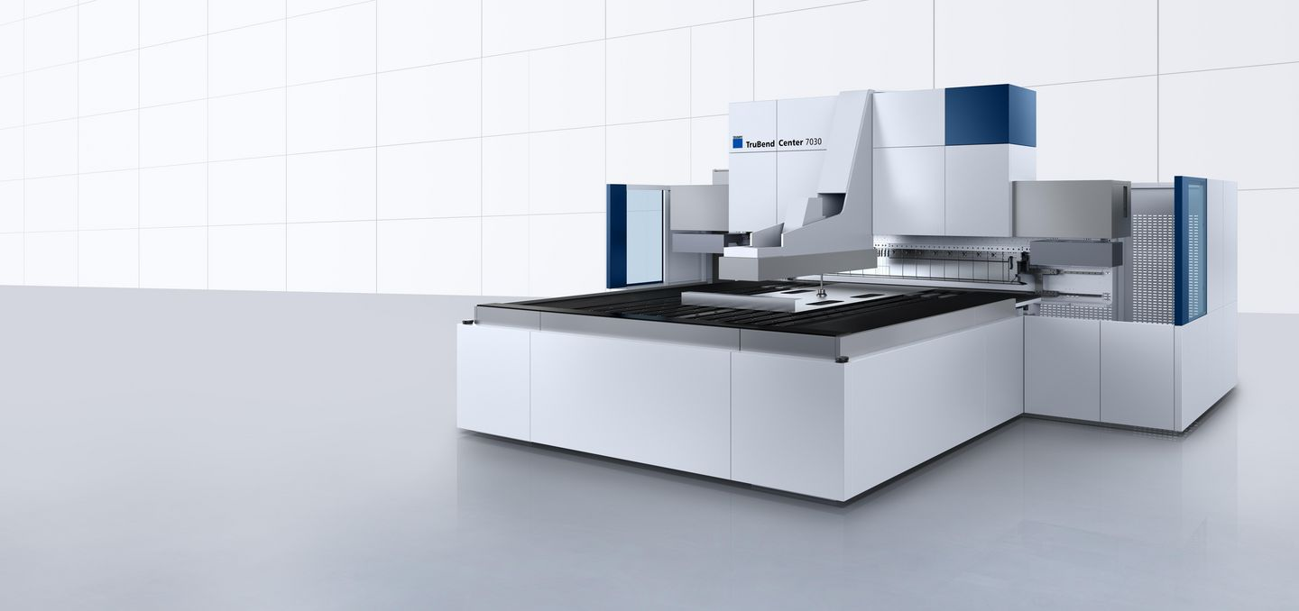 TruBend Center 7030 – fully automatic and precise panel bending with a high level of flexibility