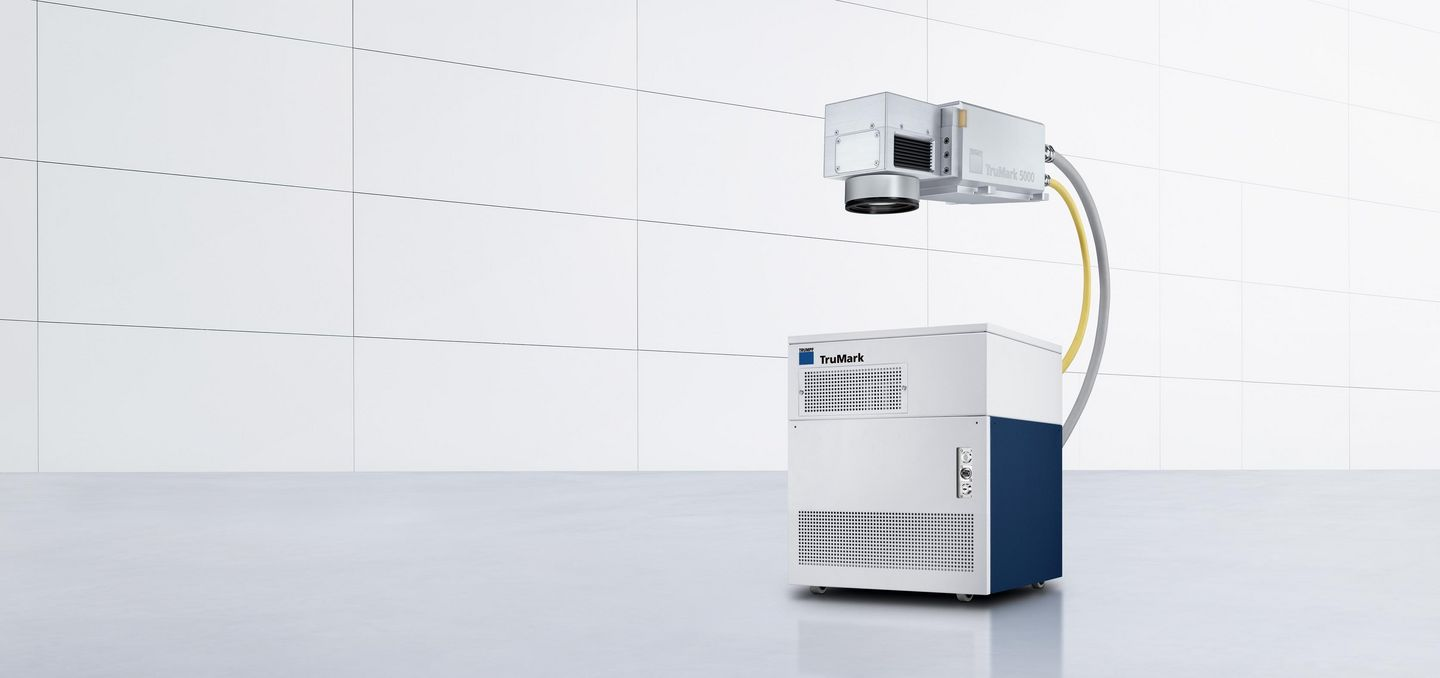 TruMark Series 5000 – flexible and productive with compact laser head