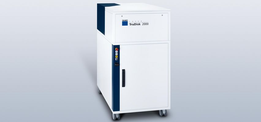 Compact design of the TruDisk 2000