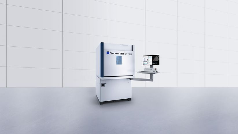 TruLaser Station 7000 - the compact and cost-efficient 3D laser welding system for small assemblies