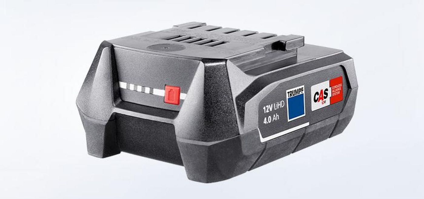12V LiHD 4.0Ah rechargeable battery