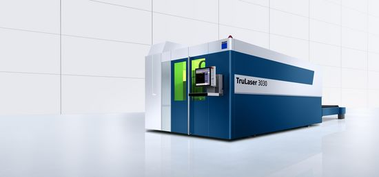 TruLaser 3030 fiber, machine standard flexible