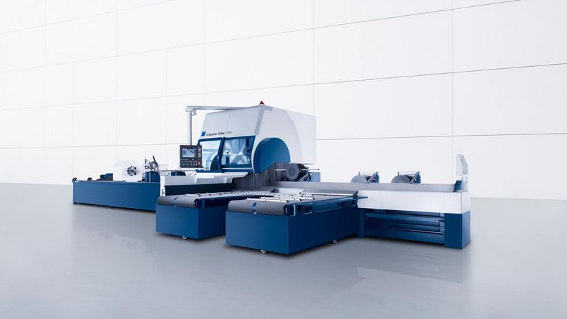 TruLaser Tube 7000, flexible high-end machine for XXL laser tube cutting