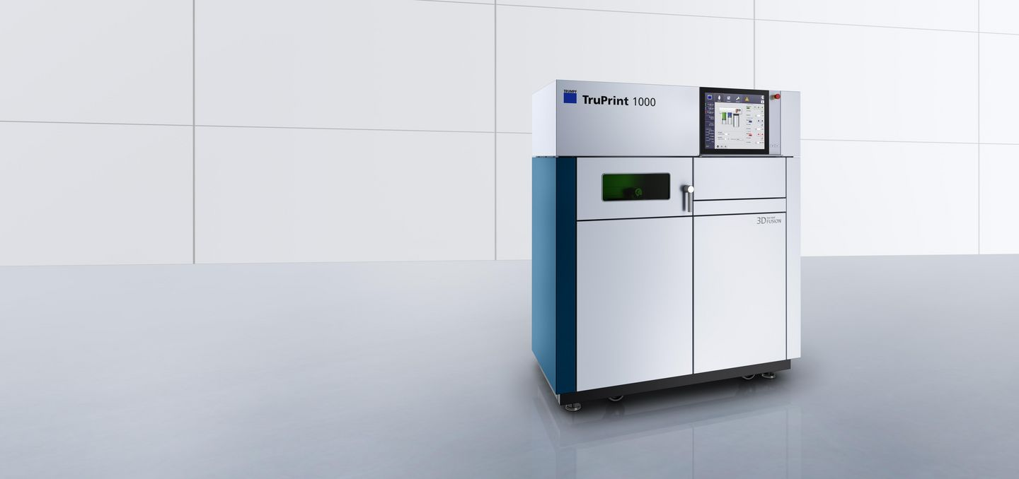 TruPrint 1000 – compact and robust 3D printing